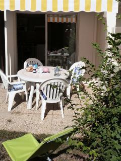 terrasse en rez de jardin