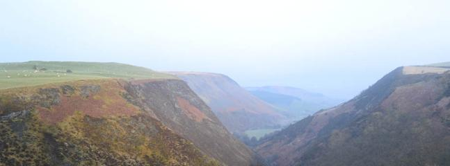 the view from the head of the valley