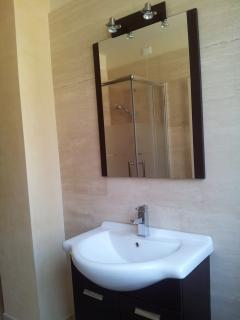 Marble bathroom Are also included soap and towels