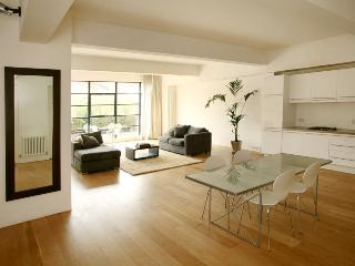 LUXURY LOFT APARTMENT. LARGE, CENTRAL AND MODERN! QUIET LOCATION. SLEEPS 6.