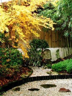 Jardin Zen à l'automne