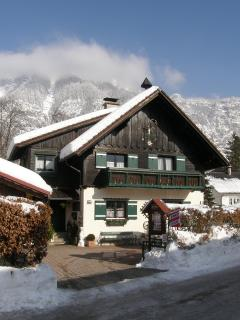 Landhaus Osborne in winter