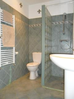 Shower room in Rampart Wing