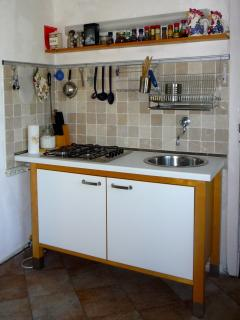 In the optional studio flat, a fully fitted kitchenette with its own fridge and kettle