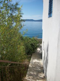 The Beach House Croatia Pisak  Vista desde la casa