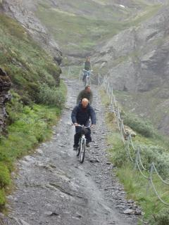 The famous Rallarvegen (The Navvy Road) is an exotic and fantastic bike ride down to the fjord