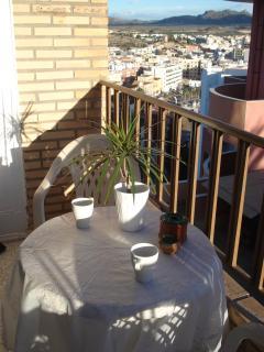 morning sun terass
