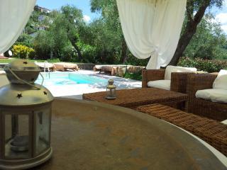 villa con piscina  13  persone