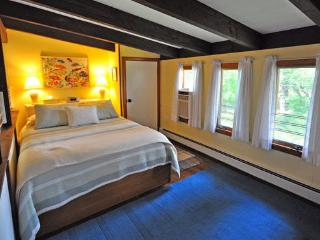 Queen bed, new orthopedic mattress, The Cherry Suite, Cottage Guest, Eastham, MA, Cape Cod