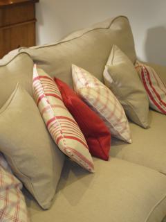 The comfy sofa