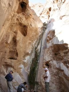 A desert safari to see a waterfall