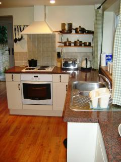 Roomy kitchen/diner
