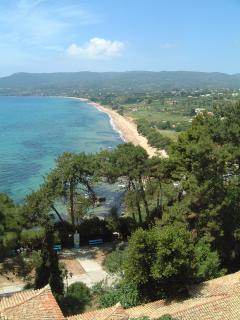 Beautiful Zaga beach - nesting ground of the Logga turtle and unspoilt bathing beach