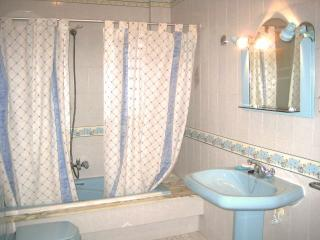 Baño azul / Blue bathroom