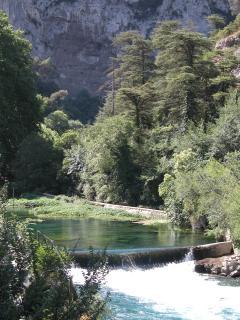 river Sorgue (2km)