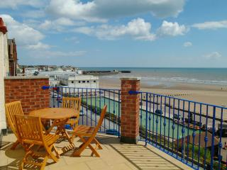 superb sea views from your own large sea facing balcony