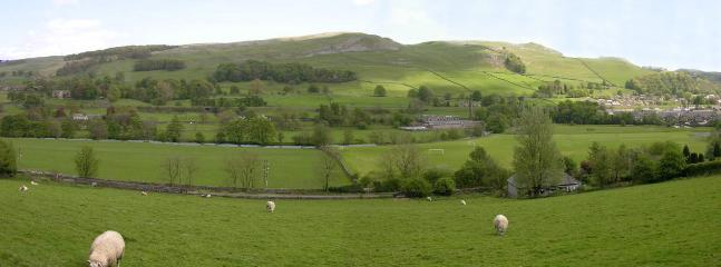 fantastic views over the Ribble Valley and Attimire