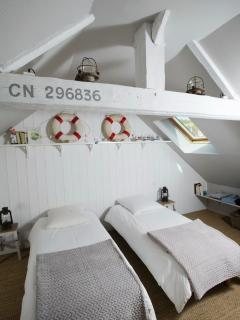 Chambre avec 2 lits 80*190 (2ème étage)
