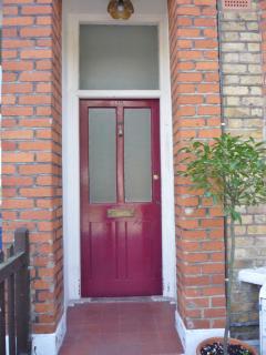 Victorian House Front Door