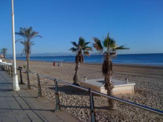 Guardamar beach just a ten min drive away