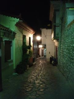 Narrows streets of Ano Vathi