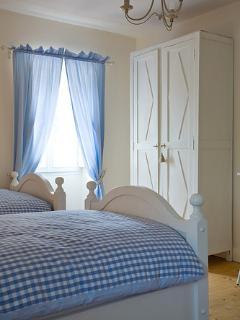 chambre twin 1er étage bleu