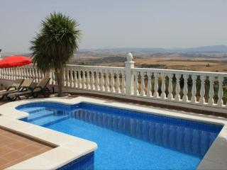 Private pool and sun loungers