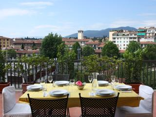 Top-floor condo in Florence with spacious terrace