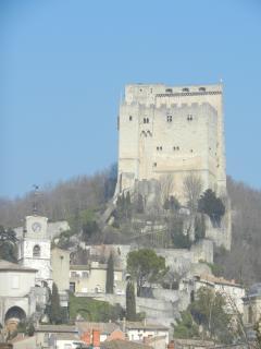 Tour de Crest plus haut donjon d'Europe