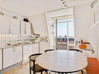 Bright Copenhagen apartment opposite the Faelled Park