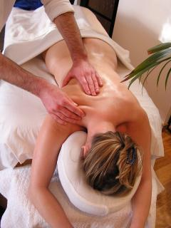 Massage at home in extra charge