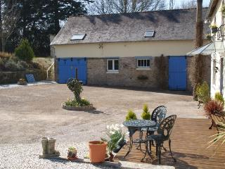 Our Gite sits above the barn. There is secure parking for motorbikes in the barn
