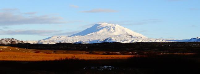 The famous volcano Hekla
