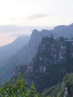 View to Kambe peak
