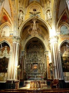 Interno Santuario Mariano Maria Santissima di Custonaci