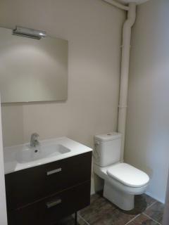 Le WC et le lave main du rez de chaussée