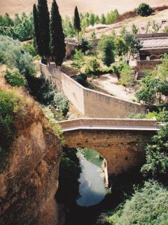 Arab Bridge in Ronda