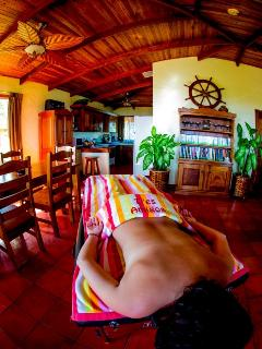 Massage therapist on call