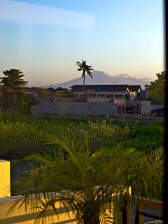 View of Mt Agung from upstairs bedrooms