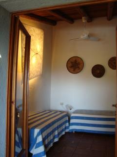 Camera da letto a due letti singoli