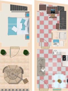 Appartamento Tramontana - Pianta