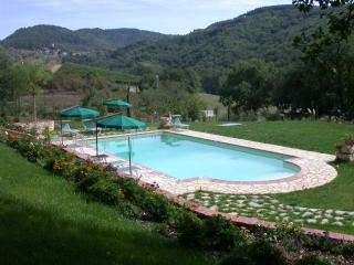 Studio in villa with swimming pool,