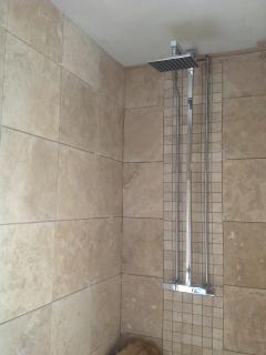 Luxurious Double Rainfall Shower Room