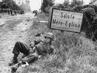 Sainte mère eglise (photo historique)