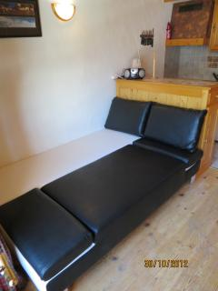 Very comfortable, stylish double futon bed