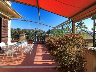 Penthouse terrace Central Rome
