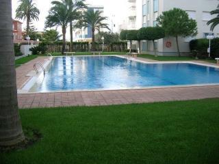 Apartamento hasta 6 personas, Playa de  Daimus.