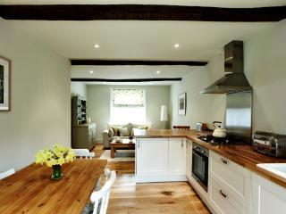 Ground floor -kitchen and sitting area.
