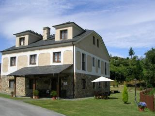 Casa rural en el occidente de Asturias