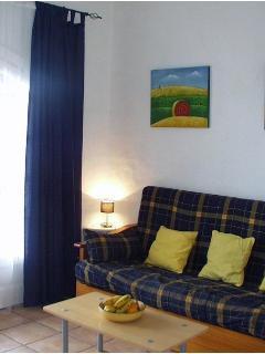 The lounge at Sa Caseta